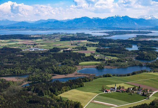 Stephanskirchen Seenplatte | © Tourist Info Bad Endorf