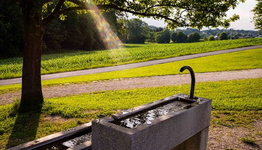 Kneipp-Arm-Becken, Kurpark Bad Endorf | © Tourist Info Bad Endorf, Nitzsche Rainer